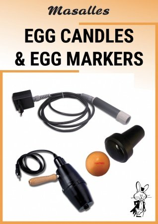 Egg candles and egg markers